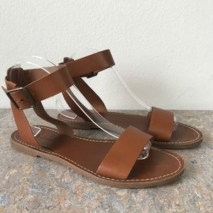 Madewell Boardwalk Ankle-Strap Sandals Shoes